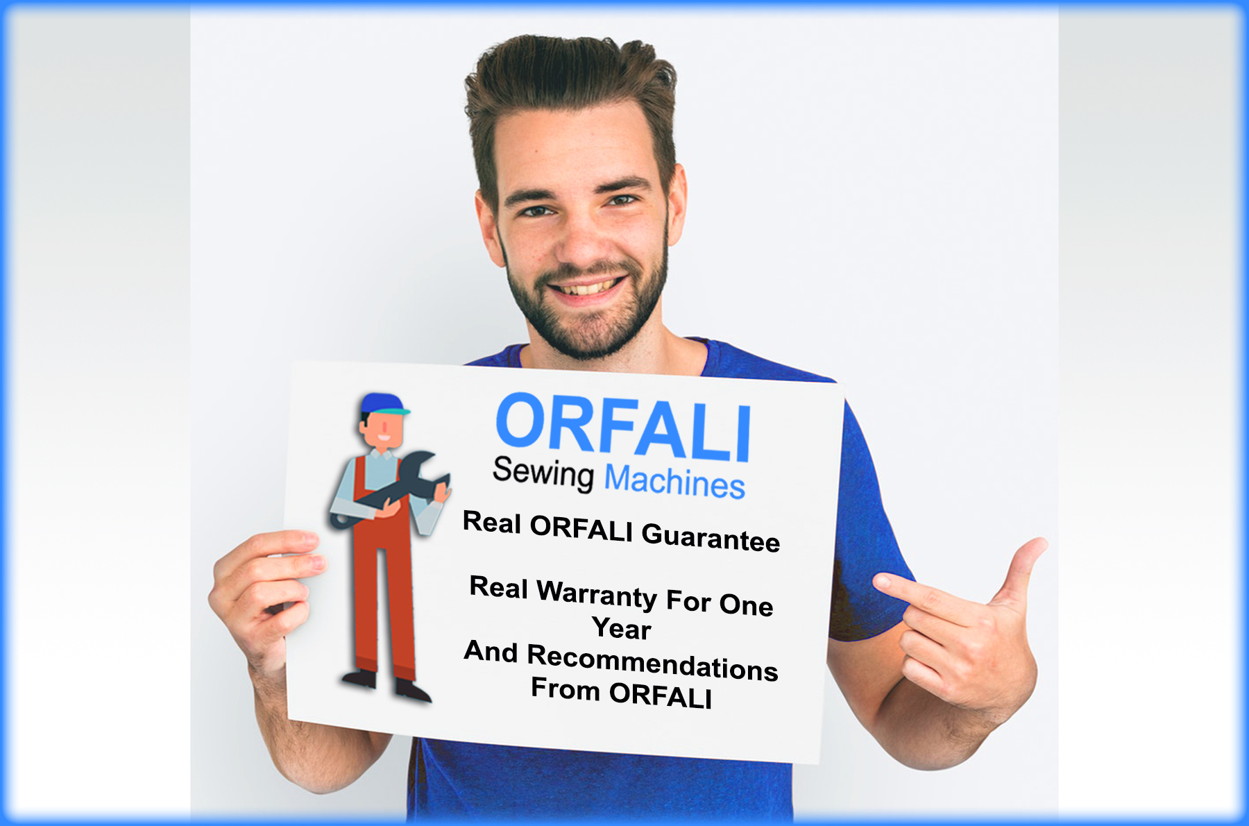 Real ORFALI guarantee